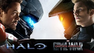 Captain America: Civil War - Halo Cinematic Trailer #1 - HD [720p]