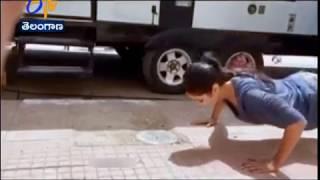 Katrina Kaif's magical push-ups will make your jaw drop! WATCH