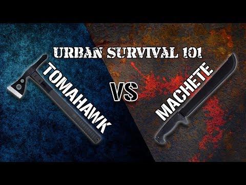 Xxx Mp4 Machete VS Tomahawk Which Is Better Survival 101 3gp Sex