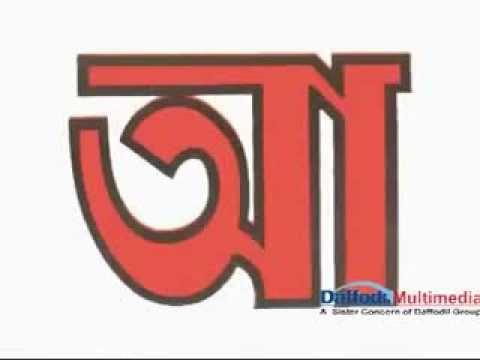 Bangla Letters with pronunciation (বাংলা বর্ণ উচ্চারণ)