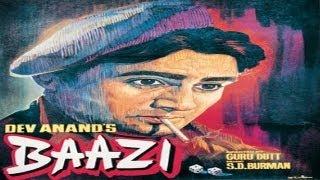BAAZI - Dev Anand, Geeta Bali, Kalpana Kartik, K.N. Singh, Johnny Walker,