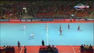 Spain vs Iran - 2012 FIFA Futsal World Cup