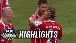 Bayern Munich vs. Freiburg | 2016-17 Bundesliga Highlights