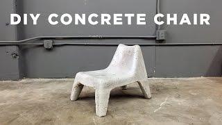 DIY Concrete Chair IKEA Hack