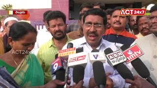 Minister Narayana Visited Bodigadi Thota @ Nellore || ACT24X7HDNEWS