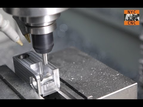 CNC Machining Steel Bracket with Tormach PCNC Mill MFG Home