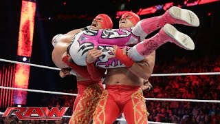 The Lucha Dragons vs. Los Matadores: Raw, July 27, 2015