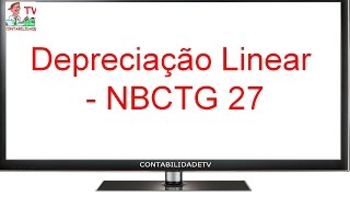 EXAME DE SUFICIÊNCIA Bacharel 2016 prova 2 Questão 03 - Depreciação Linear - NBCTG 27