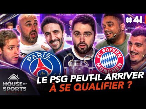 Le match retour PSG Bayern on en parle avec Alexandre Ruiz � House of Sports 41