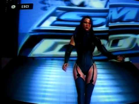 Smackdown vs Raw 2010 + Psylocke CAW Entrance (X-Treme X-Men Attire)