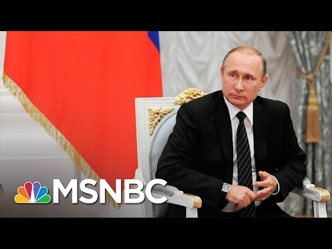 Kremlin Cooling Its Enthusiasm For President Donald Trump Andrea Mitchell MSNBC