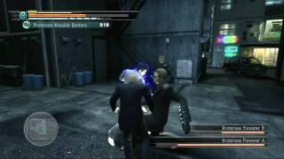 Yakuza 3 (PS3, DEMO) - 09 - Battle - Black-Suited Men