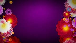 Free HD download Wedding background, Free motion graphics, wedding graphics animation FLOWER 024