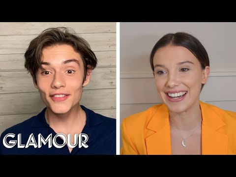 Millie Bobby Brown and Louis Partridge Take a Friendship Test Glamour