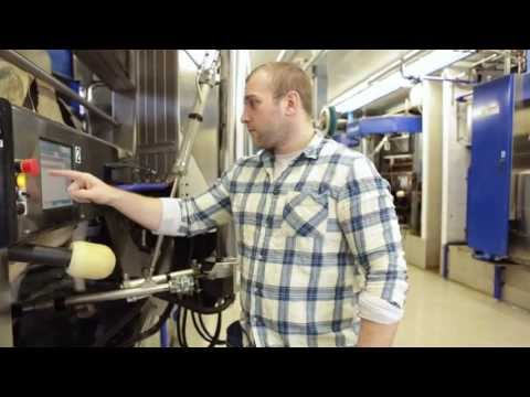 DeLaval VMS robotic milking machine