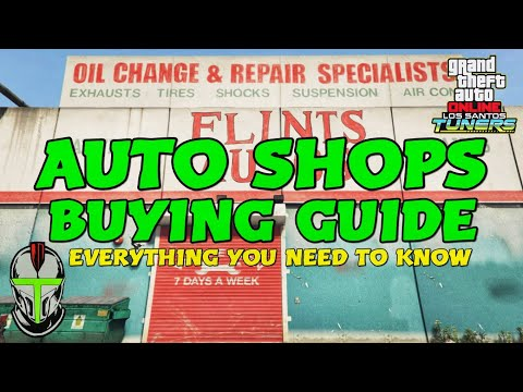 AUTO SHOPS BUYING GUIDE EVERYTHING YOU NEED TO KNOW Los Santos Tuners DLC GTA Online