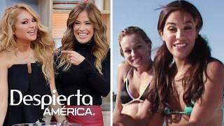 #TBT: Karla Martínez y Paulina Rubio en bikini y en altamar