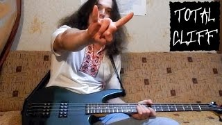 Metallica Trapped Under Ice bass cover (free bass tab on AndriyVasylenko.com) #TotalCliff