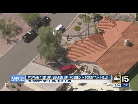 Woman tied up, beaten in Fountain Hills