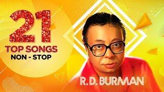 R.D. Burman | 21 Top Songs Non - Stop | Piya Tu Ab To Aaja |  Dum Maro Dum | Are Jane Kaise Kab