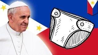 الشرطة الفيليبينية ترتدي الحفاضات كخطوة أمنية بمناسبة زيارة الأب فرنسيس