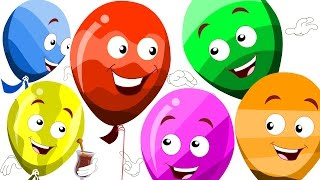 Balloon Song | Original Kids Rhymes | Songs For children