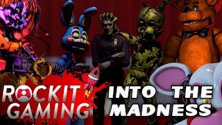 Five Night's At Freddy's 7 / FNAF VR SONG | INTO THE MADNESS OFFICIAL SFM VIDEO ROCKIT GAMING