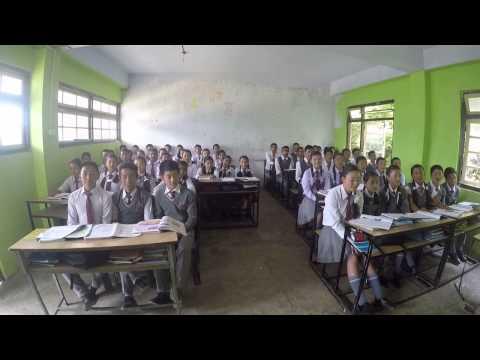 Sikkim school lesson