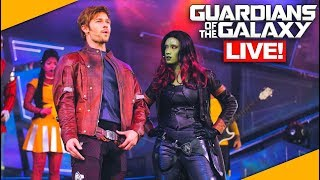 Guardians of the Galaxy Live Show at Epcot!- Disney World