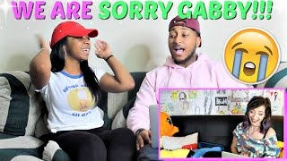 "WE ARE SORRY GABBIE!! LOL ""REACTING TO PEOPLE WHO SMASH OR PASSED ME!"" REACTION!!!"