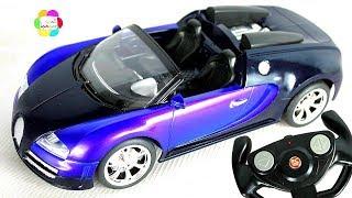 لعبة اسفلت الجديدة سيارة السباق الزرقاء بالريموت للاطفال العاب بنات واولاد  crazy asphalt car toy