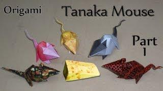 Origami Tanaka Mouse Part 1