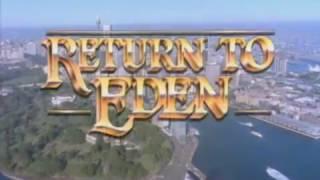 Retorno a Eden (1986) Cabecera. Serie emitida por TVE1