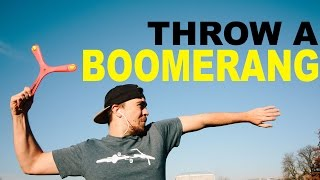 Learn to Throw a Boomerang || Learn Quick