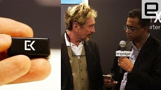 John McAfee talks Everykey and running for president