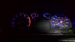 Mengganti Lampu Speedometer Timor/Kia Sephia (How to replace speedometer lamps Kia Sephia)