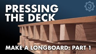 How to Make a Fiberglass Longboard (1. The Deck)
