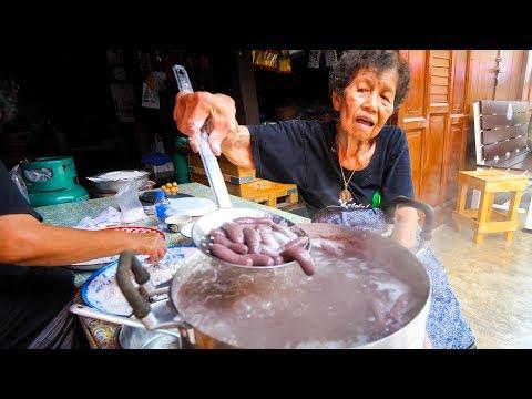 Xxx Mp4 Thai Street Food GRANDMA S CRAZY SNACK In Chanthaburi Thailand 3gp Sex