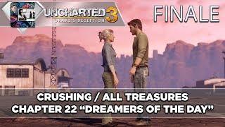 Uncharted 3: Drake's Deception Crushing Walkthrough /Treasures Chapter 22