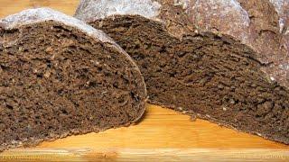 ВКУСНЫЙ РЖАНОЙ ХЛЕБ черный хлеб рецепт - Rye black BREAD recipe - BÁNH MÌ ĐEN