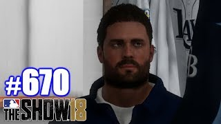 THE TERRIBLE PAIN OF BEING ONE FOOT OFF! | MLB The Show 18 | Road to the Show #670