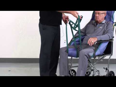 Patient Lift Sling Application