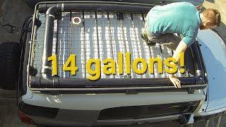 DIY Automotive Roof Water Tank