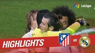 Resumen de Atlético de Madrid vs Real Madrid (0-3)