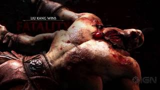 Mortal Kombat X: All Fatalities and X-Rays in 1080p 60fps