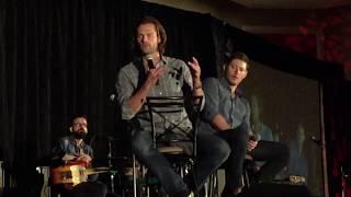 Supernatural Convention Chicago 2017 Jared & Jensen panel