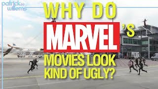 Why Do Marvel's Movies Look Kind of Ugly? (video essay)