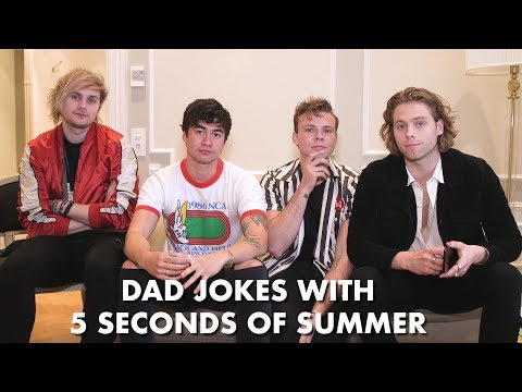 Dad Jokes with 5 Seconds Of Summer