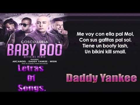 Xxx Mp4 Cosculluela Ft Daddy Yankee Arcangel Y Wisin Baby Boo Official Remix Letra 3gp Sex