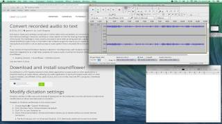 Convert recorded audio to text